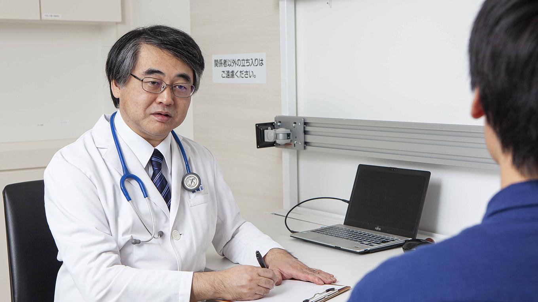宮﨑医院の診察風景